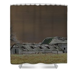 Winter Barns Shower Curtain by Alys Caviness-Gober