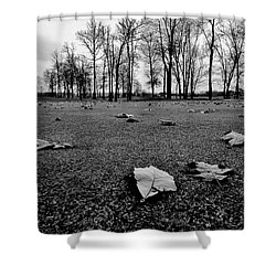 Winter Beckons Shower Curtain by Benjamin Yeager
