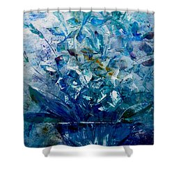 Winter Bouquet Shower Curtain by Lisa Kaiser