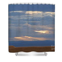 Winter Clouds Shower Curtain