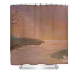 Winter Dawn Shower Curtain by Alys Caviness-Gober