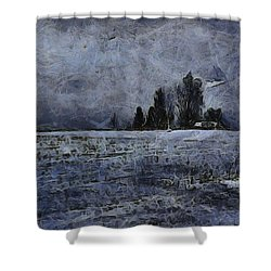 Winter Day Shower Curtain by Dan Sproul