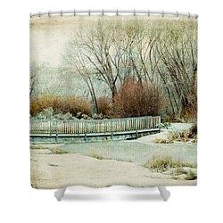 Winter Days Shower Curtain