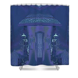 Shower Curtain featuring the photograph Winter Dusk Homecoming by Don and Judi Hall