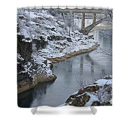 Winter Fashion Shower Curtain