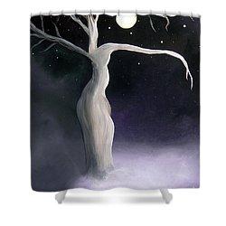 Winter Goddess Shower Curtain by Alys Caviness-Gober
