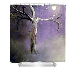 Winter Goddess II Shower Curtain by Alys Caviness-Gober