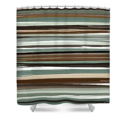 Winter In Summer Shower Curtain by Lourry Legarde