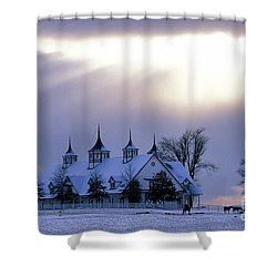 Winter In The Bluegrass - Fs000286 Shower Curtain