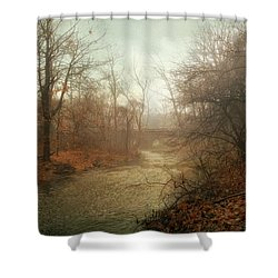 Winter Mist Shower Curtain by Jessica Jenney