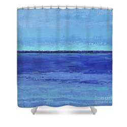 Winter Morning Shower Curtain by Gail Kent