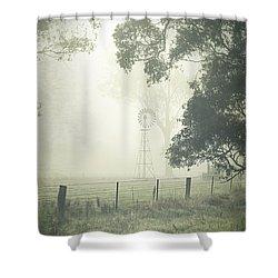 Winter Morning Londrigan 9 Shower Curtain by Linda Lees