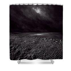 Winter Nightscape Shower Curtain by Bob Orsillo