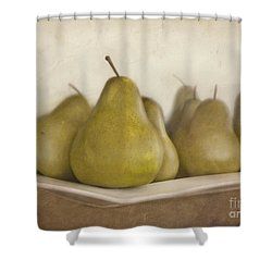 Winter Pears Shower Curtain