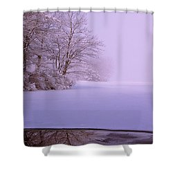 Shower Curtain featuring the photograph Winter Solstice by Brenda Jacobs