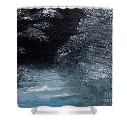 Winter Sparklers Shower Curtain by Alys Caviness-Gober