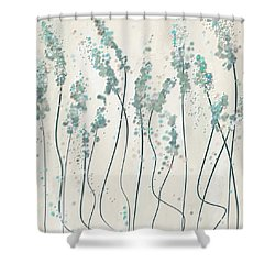 Winter Spring Shower Curtain