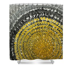 Winter Sun Original Painting Shower Curtain
