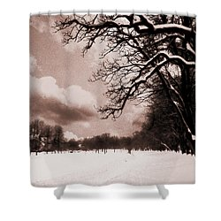 Shower Curtain featuring the photograph Winter Tale by Nina Ficur Feenan