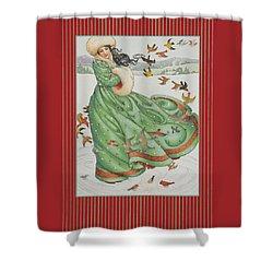 Winter Vogue Shower Curtain
