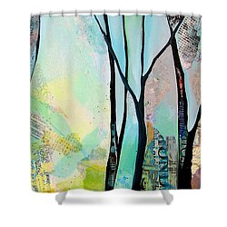 Winter Wanderings I Shower Curtain