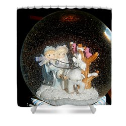 Shower Curtain featuring the photograph Winter Wonderland by Betty-Anne McDonald