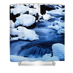Winter Yosemite National Park Ca Shower Curtain by Panoramic Images
