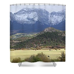 Winter's Coming Shower Curtain by Eric Glaser