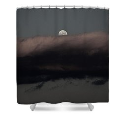 Winter's Moon Shower Curtain