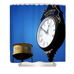 Shower Curtain featuring the photograph Winthrop Time by Greg Simmons