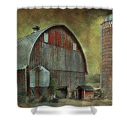 Wisconsin Barn - Series Shower Curtain
