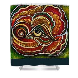 Wisdom Spirit Eye Shower Curtain