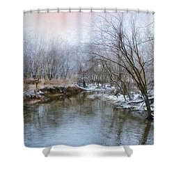 Shower Curtain featuring the photograph Wish I Had A River by John Rivera