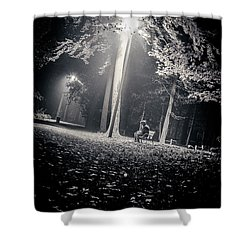 Shower Curtain featuring the photograph Wish You Were Alone by Stwayne Keubrick