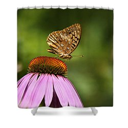Wished For Pink Shower Curtain by Christina Rollo