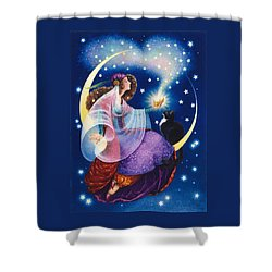 Wishes Shower Curtain by Lynn Bywaters