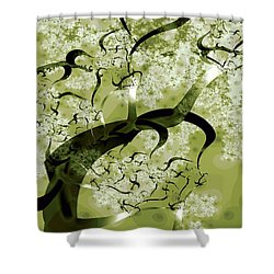 Wishing Tree Shower Curtain