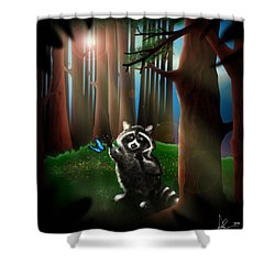 Wishing Upon A Dream Shower Curtain by Alessandro Della Pietra