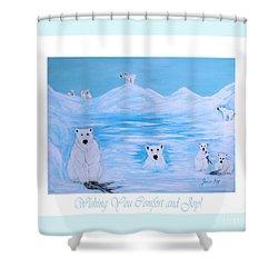 Wishing You Comfort And Joy Shower Curtain