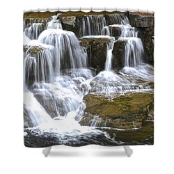 Wishy Washy Shower Curtain by Frozen in Time Fine Art Photography