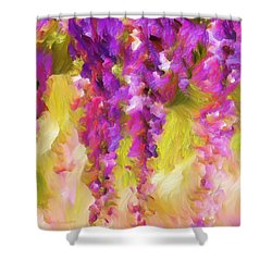 Wisteria Dreams Shower Curtain