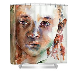 Wistful Shower Curtain by Stephie Butler