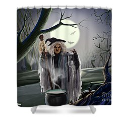 Witch's Potion Shower Curtain