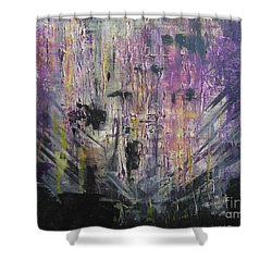 With A Chance Of Thunderstorms Shower Curtain