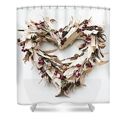 With Love Shower Curtain by Anne Gilbert