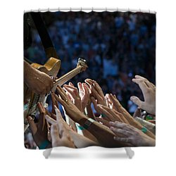 With These Hands Shower Curtain