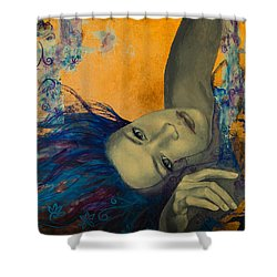 Within Temptation Shower Curtain by Dorina  Costras