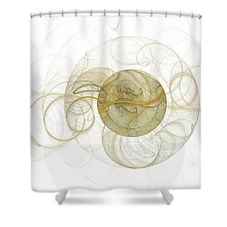Within Without Shower Curtain by Elizabeth McTaggart