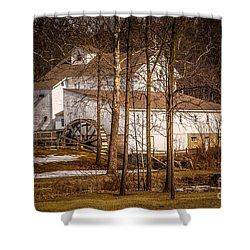 Wolcott Mill Shower Curtain by Grace Grogan