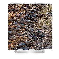 Wolf Creek Upstream Shower Curtain by Omaste Witkowski